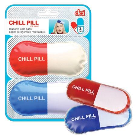 dci(ディーシーアイ)カプセル型氷嚢 CHILL PILL ICE PACK(チルピル アイスパック)