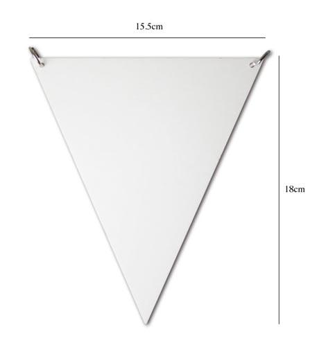 鏡でできたペナント DETAIL(ディテール)Pennant Mirror(ペナントミラー)