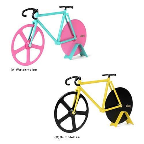 自転車をモチーフにしたピザカッター doiy(ドゥーアイワイ)Fixie Pizza Cutter(フィクシーピザカッター)