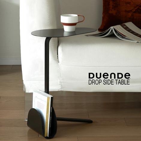 DUENDE(デュエンデ)「DROP SIDETABLE(ドロップ サイドテーブル)」