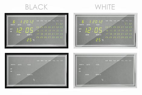 ERECT DIGITAL CALENDAR(エレクトデジタルカレンダー)