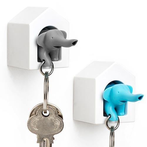 鍵を管理してくれるゾウ Qualy Elephant Key Ring