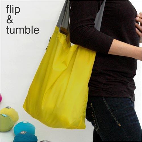 カラフルでポップでコンパクトな本気のエコバッグ flip&tumble(フリップ&タンブル) 24-7bag(24-7エコバッグ)