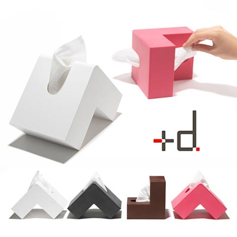 アッシュコンセプト「+d(プラスディー)」シリーズ Folio(フォリオ)Tissue Case(ティッシュケース)