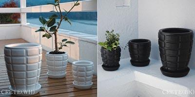 FusioN Crete ポット(植木鉢)