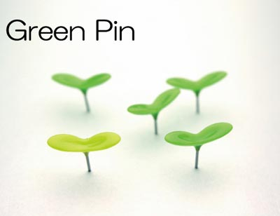 """アッシュコンセプト""""+d(プラスディー)""""シリーズ「Green Pin(グリーンピン)」"""