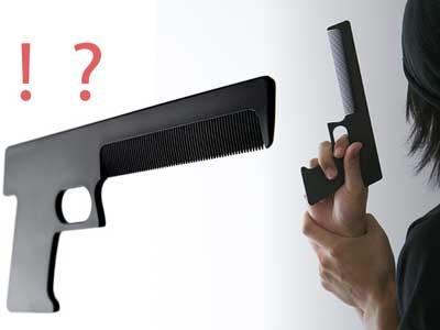 DIXON Gun Comb(銃型クシ)