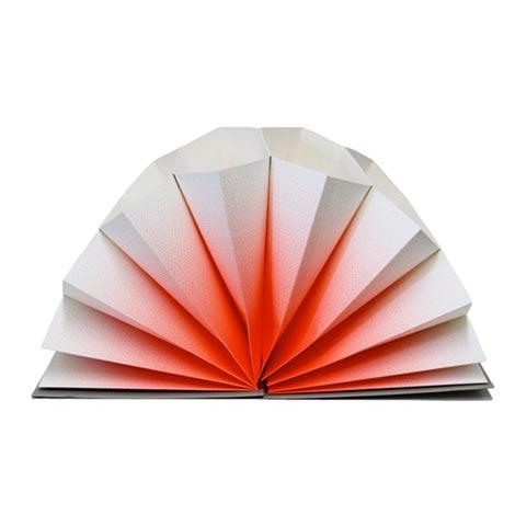 広げると美しいデザインが現れる蛇腹ファイル HAY(ヘイ) plisse(プリセ)