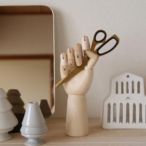 リアルに関節が曲がる木製ハンドルソー HAY Wooden Hand