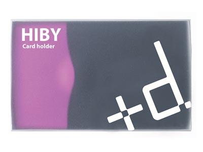 アッシュコンセプト カードホルダー HIBY(ハイビー)