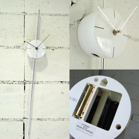 IDEA LABEL(イデアレーベル)「STICK SWING WALL CLOCK(スティックスイングウォールクロック)」