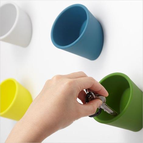 壁にポケット ideaco(イデアコ)cuppo(カッポ)ウォールポケット