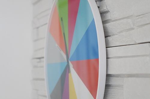 karlsson(カールソン)Ultra Flat Wall Clock Multi Color(ウルトラフラット ウォールクロック マルチカラー)