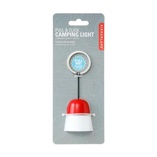 kikkerland(キッカーランド)Pull&Click Camping Light(プル&クリック キャンピングライト)