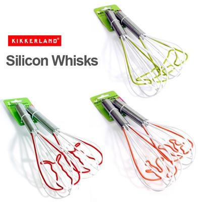 Kikkerland(キッカーランド) Silicon Whisks(シリコン ウィスク)