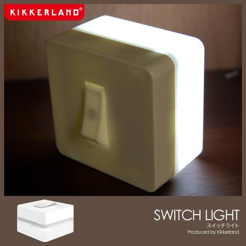 スイッチオンでスイッチが光る kikkerland Switch Light