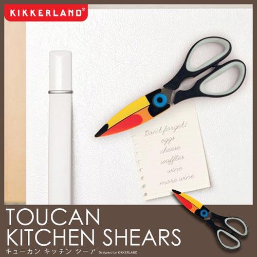 KIKKERLAND(キッカーランド)TOUCAN KITCHEN SHEARS(トーカンキッチンシーア)
