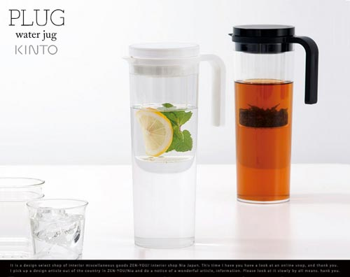 KINTO(キントー)PLUG Water Jug(プラグウォータージャグ)