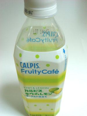 CALPIS Fruity Cafe カルピス キウイ&レモン