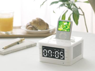 Kootec Alarm Clock for iPod(クーテック アラームクロックラジオ PT231)