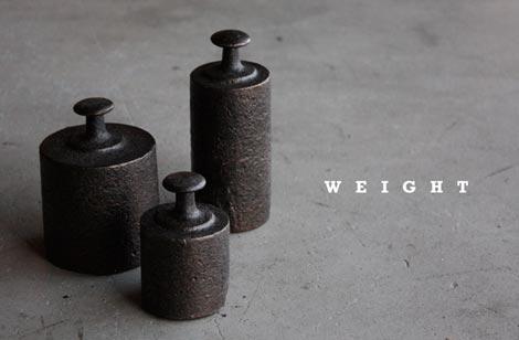 まさに鉄の塊 アイアン製のペーパーウエイト Kraftrips&Co WEIGHT
