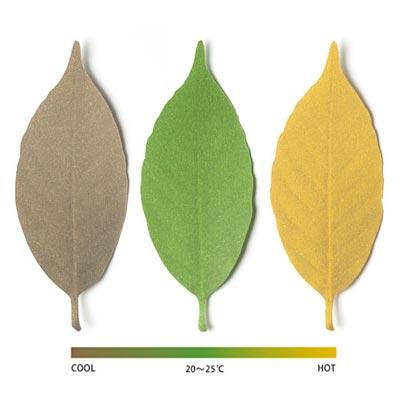 アッシュコンセプト「+d(プラスディー)」シリーズ Leaf(リーフ) Thermometer(サーモメーター)