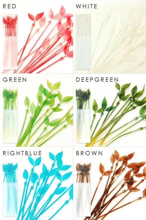 Lufdesign(ラフデザイン)「Leaf Tie(リーフタイ)」