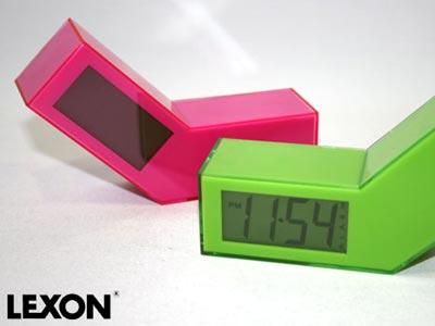 LEXON(レクソン) ONOFF CLOCK(オンオフクロック)目覚まし時計