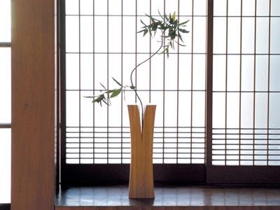 竹集成材プロジェクト TEORI 「LIN(リン)」一輪挿し