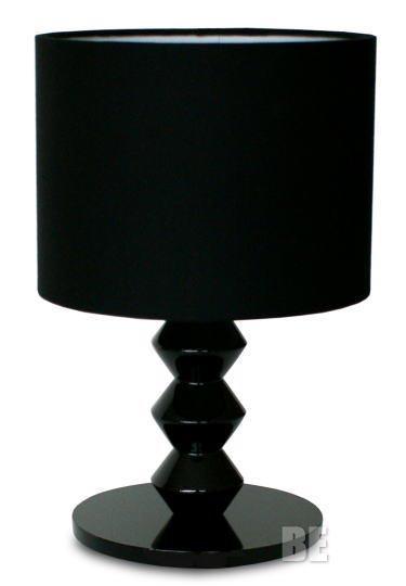 漆黒のテーブルライト Logica table lamp