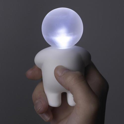 とっても和む人型ミニライト Lumibaby Mini Light