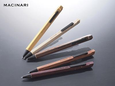 MACINARI(マキナリ)木製 ボールペン
