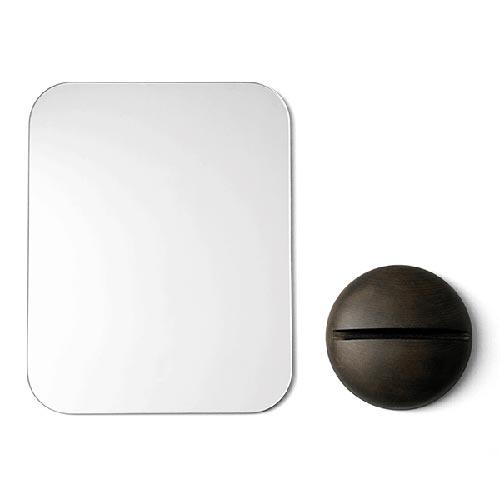 片面はコパートーン スタイリッシュなリバーシブルミラー MENU Gridy Me Mirror