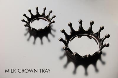 Duende(デュエンデ) Milk Crown Tray(ミルククラウントレイ)
