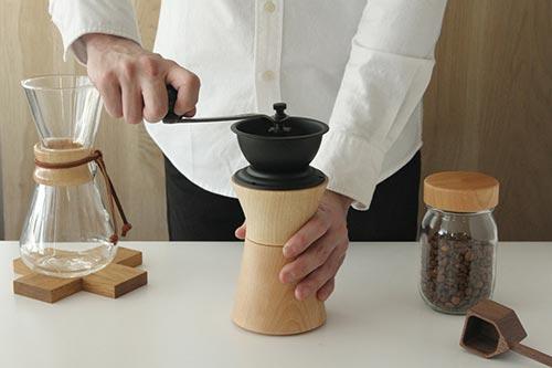 MokuNeji(モクネジ)COFFEE MILL(コーヒーミル)