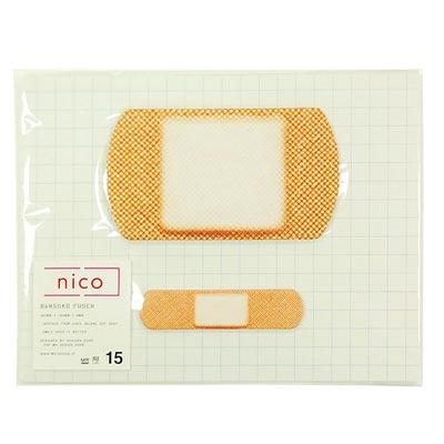 nico(ニコ) BANSOKO FUSEN(絆創膏 付箋)