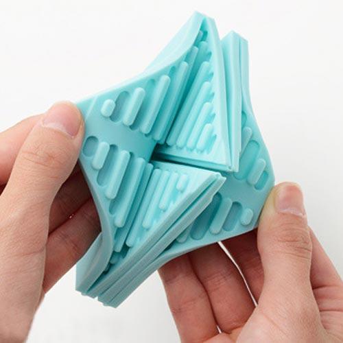 折って畳んで楽しい鍋敷き ORISHIKI Slicone Mat(オリシキ シリコンマット)