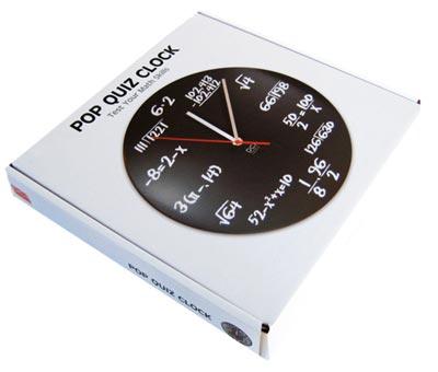 キッカーランド POP QUIZ CLOCK(ポップクイズクロック)
