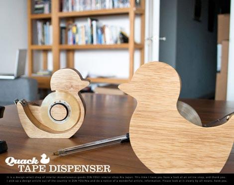 Suck UK(サックユーケー)Quack Tape Dispenser(クァック テープ ディペンサー)