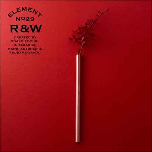 RED&WHITE(レッドアンドホワイト)FLOWER VASE(フラワーベース)