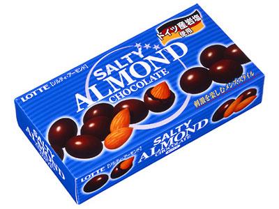 LOTTE ソルティアーモンドチョコレート