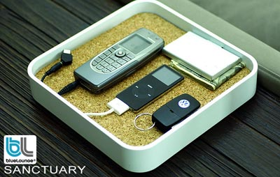 SANCTUARY 充電機能付きデスクオーガナイザー
