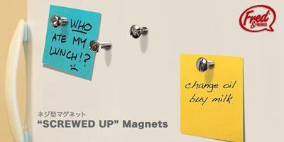 FRED 「SCREWED UP MAGNETS(スクリュードアップ マグネット)」