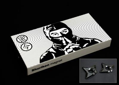 Shuriken Magnet(手裏剣マグネット)