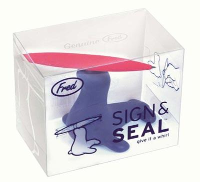 FRED(フレッド) SIGN&SEAL(サイン&シール)アシカペン