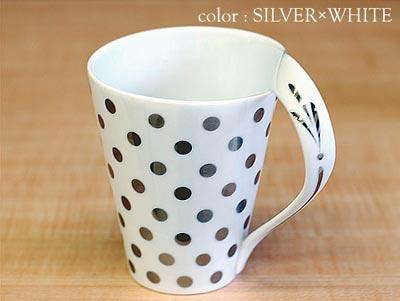 SILVER DOT(シルバードット) マグカップ