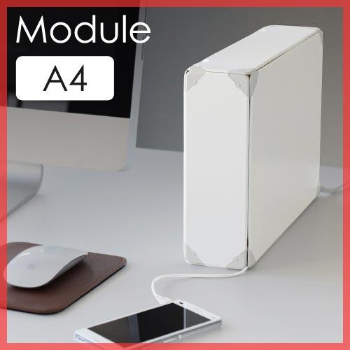 デスクにフィットするA4サイズのケーブルボックス soraca ModuleA5