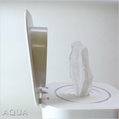 reina(レイナ)「Squat(スクワット)」ロール型ウェットティッシュケース 詰め替えケース