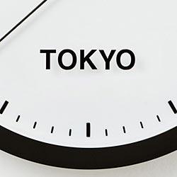 100% × snow peak SUN Clock