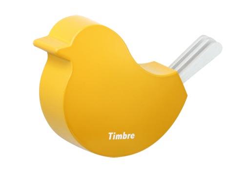 ドアにかわいいアイコンを 小鳥のドアチャイム Timbre(ティンブレ)TORI(トリ)